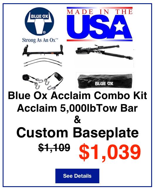 Blue Ox Acclaim Combo Kit