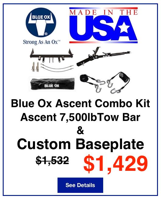 Blue Ox Ascent Combo Kit