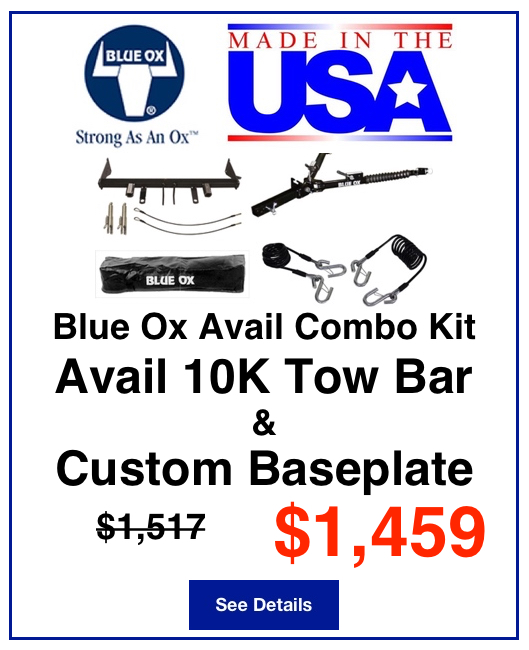 Blue Ox Avail Combo Kit