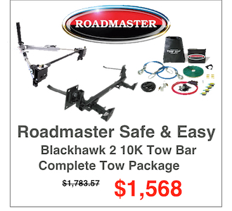 Roadmaster Flat Tow Packages