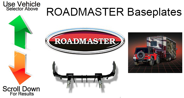 Roadmaster Tow Bar Base Plates Brackets Amp Accessories